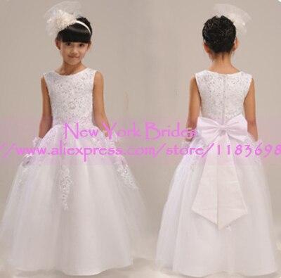 Vestido de daminha/Платья с цветочным узором для девочек; vestidos infantis; платья для первого причастия для девочек