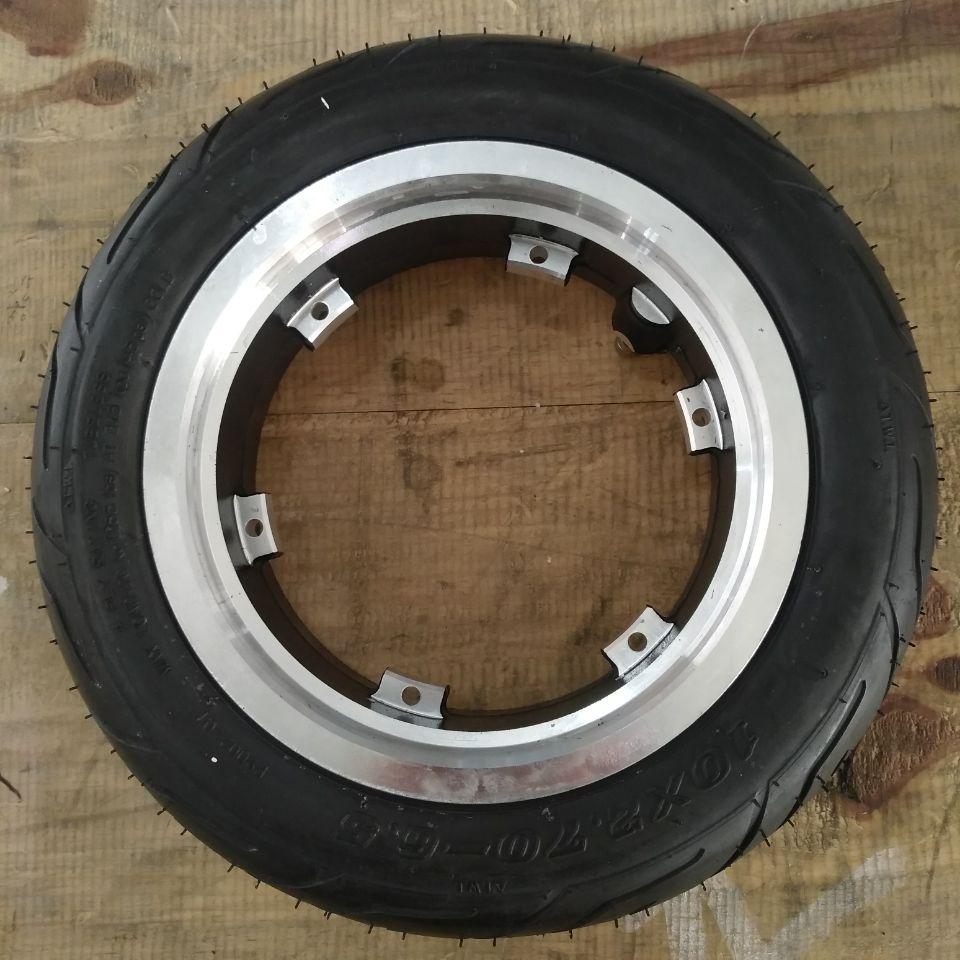 Vakuum Reifen mit Rad Hub ring für Dualtron 3 Elektrische Roller