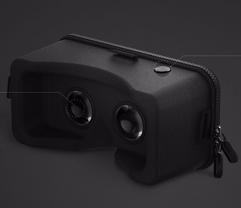Original Xiaomi VR Virtual Reality 3D Glasses Mi VR Box 3D Virtual Reality Glasses cardboard MI VR For iphone 7 Xiaomi Samsung (1)