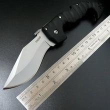 Hohe Qualität Verkäufe Erkältung Stahl Camping Taktisches Messer D2 Klinge Utility Faltendes Messer Jagd Werkzeuge Outdoor Tasche überleben messer