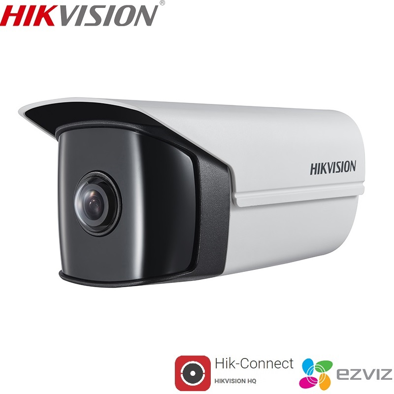 HIKVISION DS-2CD3T45FP1-IWS Built-In Microphone Wide-Angle 4MP WiFi IP Camera PoE Support P2P Hik-Connect ONVIF Mobile Control