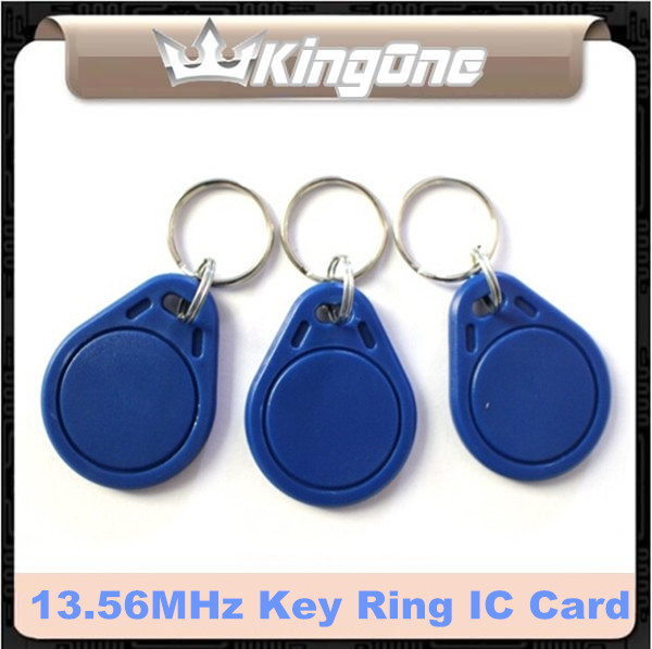 Rfid Proximity Control Entry Access 13.56mhz S50 Token Tag Key Ring Pvc Ic Tag For Access Control System Durable Service Helpful 100pcs/lot Access Control