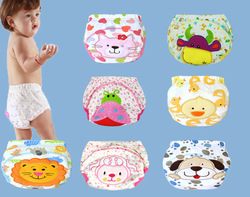 1pc baby waterproof reusable cotton diapers children cloth diaper reusable nappies training pants diaper cover washable.jpg 250x250