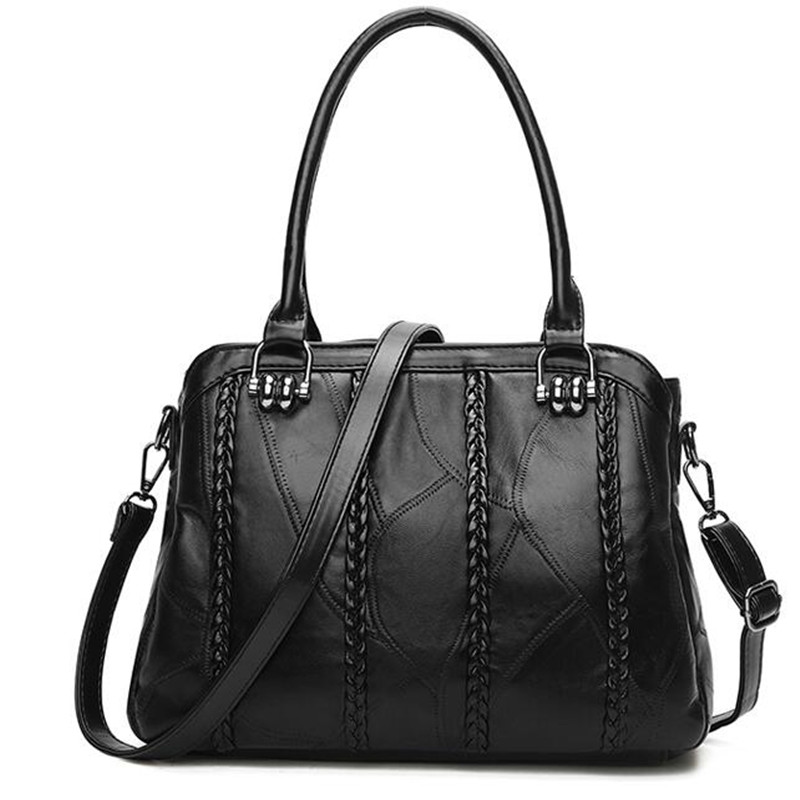 High quality genuine sheepskin leather women messenger shoulder bag shopping female bag Girls crossbody bags trend bag New