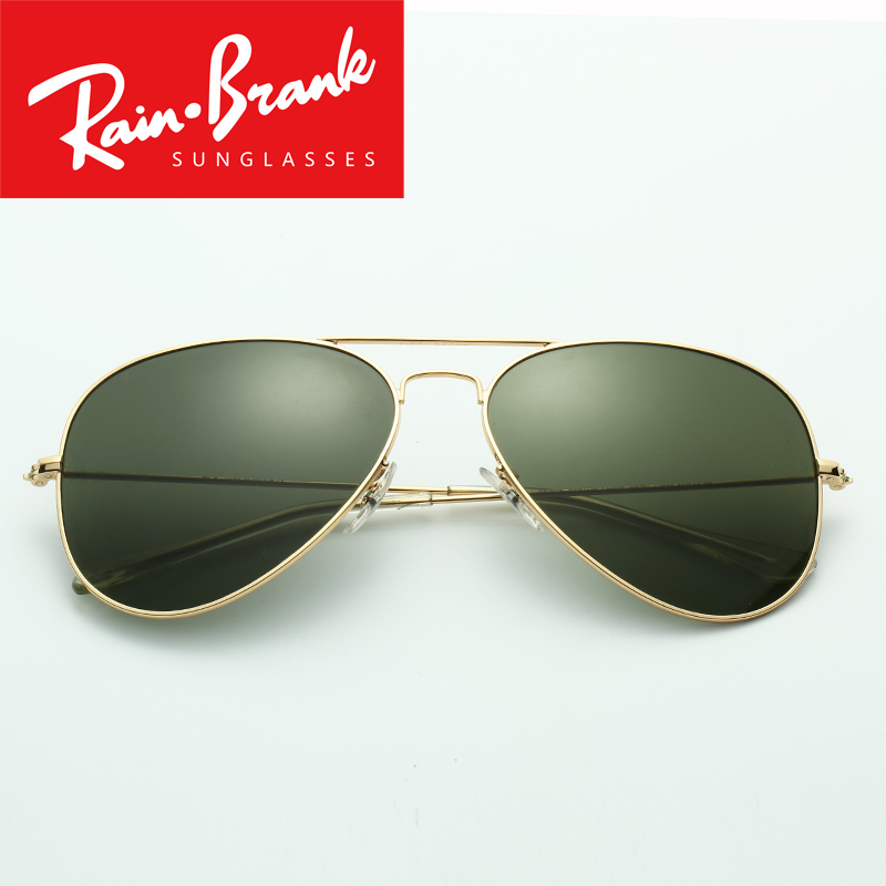 Brand Sunglasses model 3025 for women man UV400 glass lenses