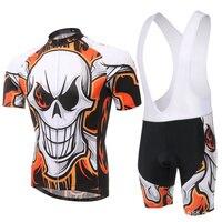 Men Cycling Jersey Bib Short Sleeve Sets 2017 Summer Cycling Clothing Kits Male Breathable Mountain Bora