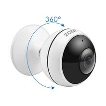 ZOSI אלחוטי IP מצלמה WiFi פנורמי Fisheye וידאו מעקב מצלמה 3MP Ultra HD 360 מלא תואר צפה מלאך VR CCTV מצלמה