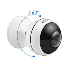 ZOSI cámara IP inalámbrica WiFi panorámica Fisheye Video vigilancia Cámara 3MP Ultra HD 360 grados vista Ángel VR CCTV cámara(China)