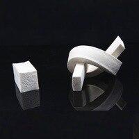 Weatherstrip Silicone Rubber Foam Sponge Bar Seal Strip Square 15mm X 15mm Flat 25mm X 20mm