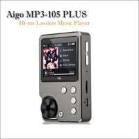 Aigo MP3 105 PLUS Hi res Music Player Mp3 Hi fi Flac Player Portable Mp3 Player Mini Lossless Player Muisc Mp3 with Screen