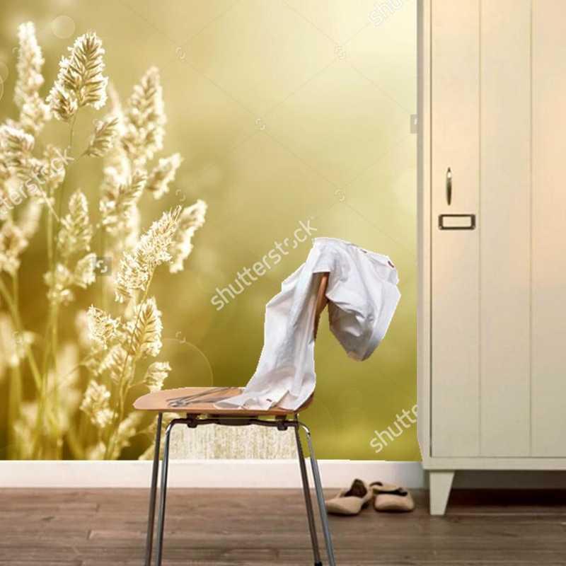 מותאם אישית נוף טבעי טפט, סתיו אחו, קיר תמונה לחדר השינה הסלון 3D טפט קיר חדר אוכל