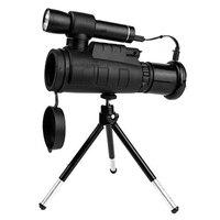 Infrared Telescope Digital Powerful Monocular 40X60 Zoom Monocular Telescope For Smartphone With Tripod