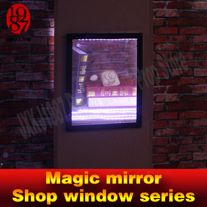 Image 5 - Real life room escape props magic mirror IC card version for real life chamber room from  jxkj1987 adventure room game props