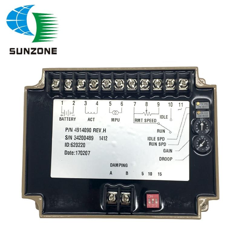 Speed Control Unit 4914090 Generator Electronics Speed Governor gcu 20 generator control unit solid thai also means kutai generator control unit