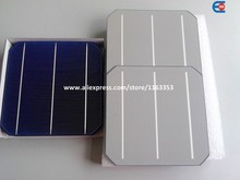 Free Shipping High Efficiency Up To 4.8 Watt Solar Cell For Sale,Monocyrstalline Solar Cells 156×156