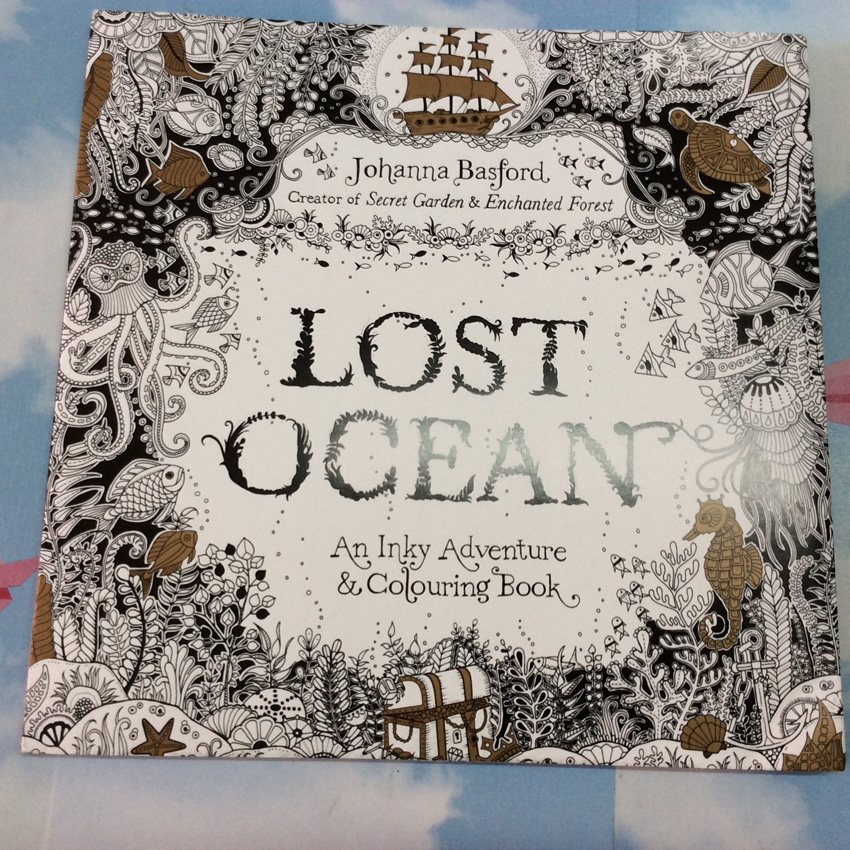 88 Pages Lost Ocean English Edition Secret Garden Coloring Book For Children Adults Kids Relieve Stress Art Coloring Books
