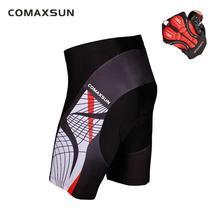 COMAXSUN мужские велосипедные шорты с 3D подкладкой велосипед/Велосипедный спорт на открытом воздухе обтягивающие S-3XL 10 стилей