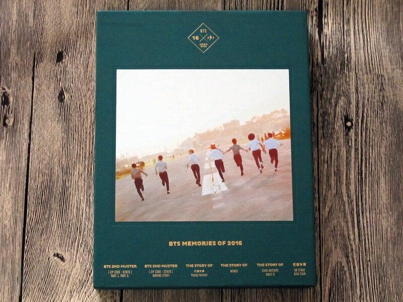 signed BTS  autographed photobook BTS MEMORIES OF 2016 KPOP 082017A bigbang10 bigbang made program book 136 pages photobook kpop