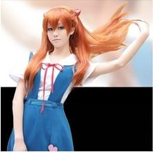 цена на Halloween Women Neon Genesis Evangelion Cosplay Asuka Langley Soryu Tokyo Ayanami Rei Costume School Uniform