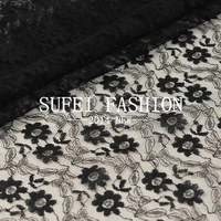 1PCS 1yard 150cm DIY SEWING ACCESSORIES High Quality Sunflower Warp Lace Fabric Jacquard Knitted Fabric