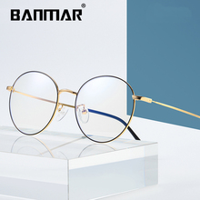 BANMAR Anti Blue Light Glasses Men Alloy Reading Goggle Eyewear Eyeglasses Frame Optical Gaming Computer For Women A1905