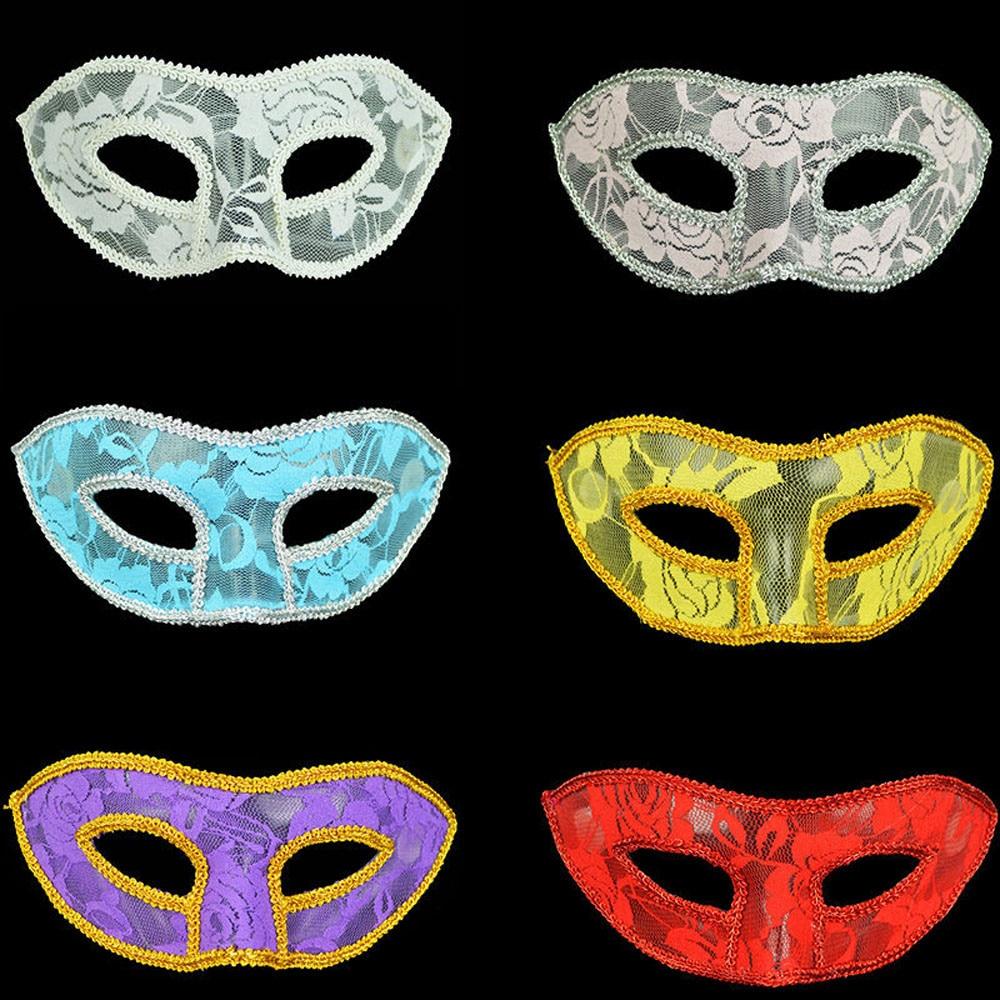 HIINST 2017 Halloween Party Costume Women Masks Venetian Masquerade Prom Mask Practical Jokes Toys Sep15 Drop Ship