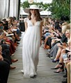 Vestido De Noiva 2016 do Casamento De praia Vestido com decote em V voltar ver - através Boho manga curta Lace Vestido personalizado verão Casamento De Noiva