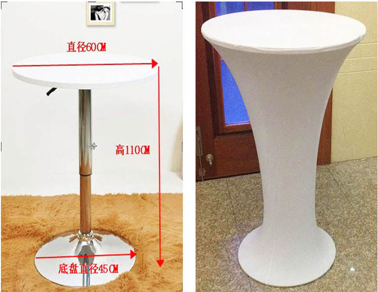 Hotel Tablecloth Tail Antependium High Table Coffee Elastic
