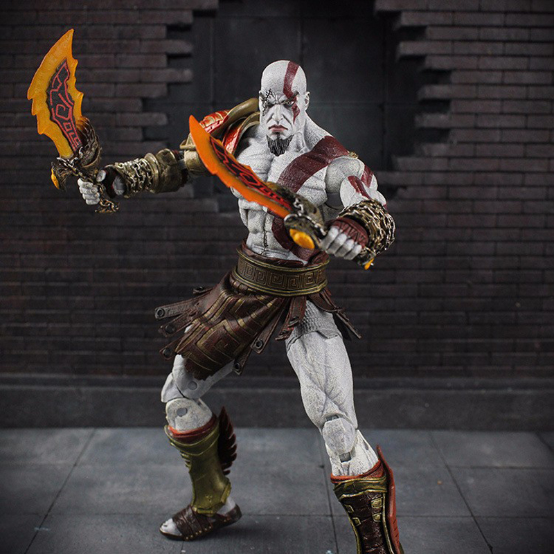 God of War 3 Ghost of Sparta Kratos PVC Action Figure Collectible Model Toy Free Shipping