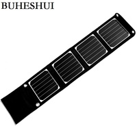 High Quality12W Foldable Solar Panel Charger For Iphone Solar Battery Charger High Performance Solar Panel 2pcs