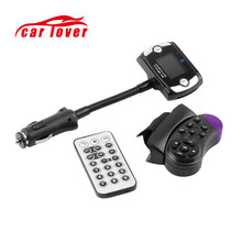 Car MP3 Radio Player Wireless Bluetooth FM Transmitter Remote Control Modulator LCD Phone USB Charger Port Handsfree Calling set(China)