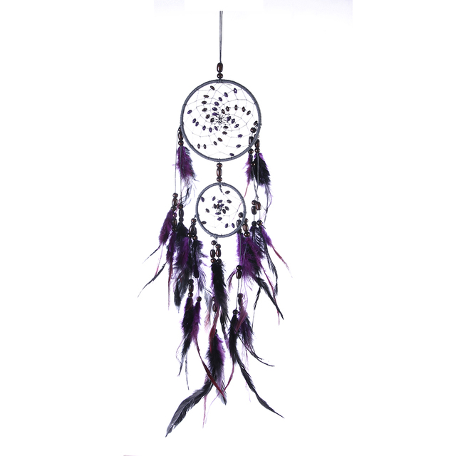 Purple Wind Chimes Dream Catcher