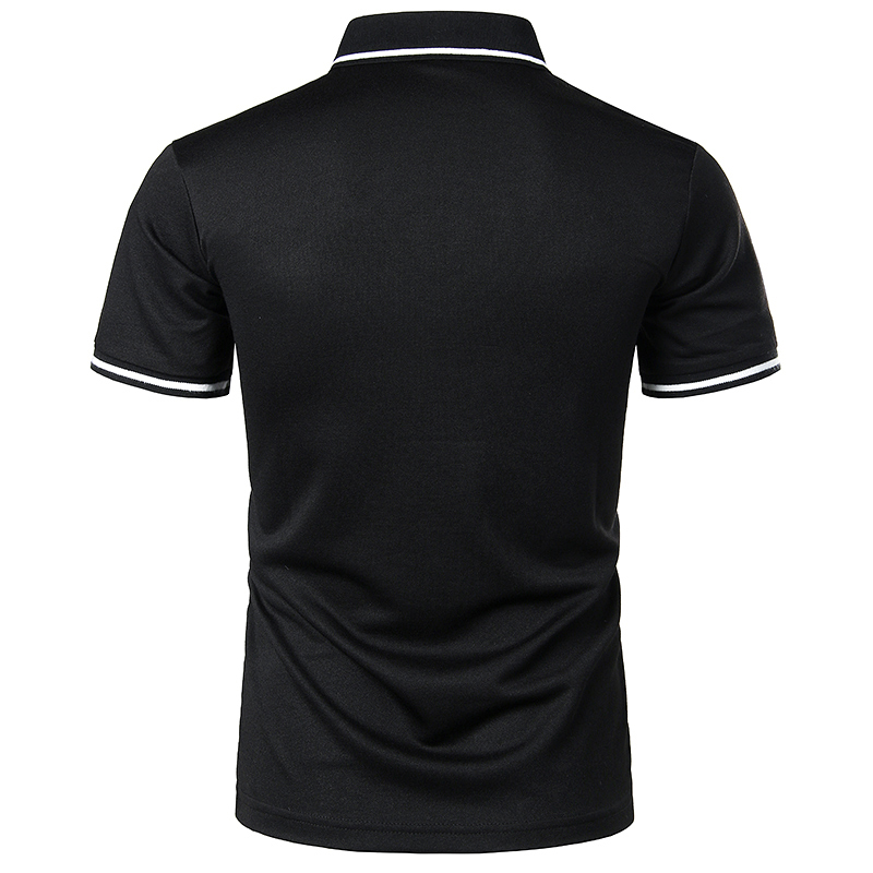 2019 Brand Clothing Men Polo Shirt Men Business Casual Solid Male Polo Shirt Short Sleeve High Quality Pure Cotton