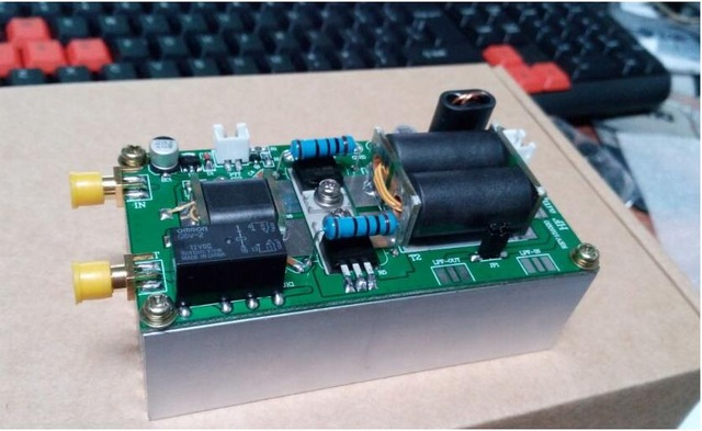 diy kits 70w ssb linear power amplifier mini pa70 amplifier parts new in amplifier from consumer. Black Bedroom Furniture Sets. Home Design Ideas