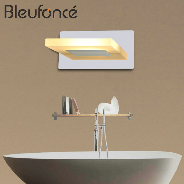 Modern stainless steel led front mirror light bathroom makeup wall modern stainless steel led front mirror light bathroom makeup wall lamps led vanity toilet wall mounted mozeypictures
