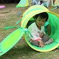 Bebê Crawling Túnel Lagarta Animal Bebê Crianças Brincam Tenda Tenda Brinquedos Indoor e Ao Ar Livre para Crianças Cor Aleatória