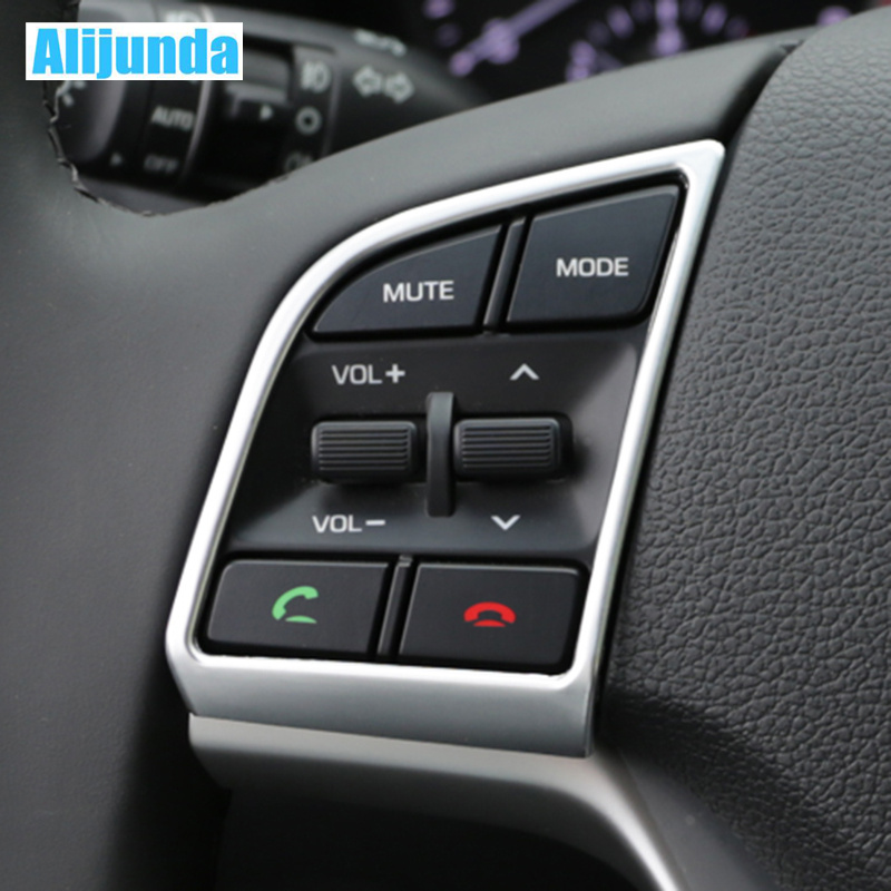 2015 Hyundai Tucson Interior: Alijunda 2 Piece Car Steering Wheel Cover Interior