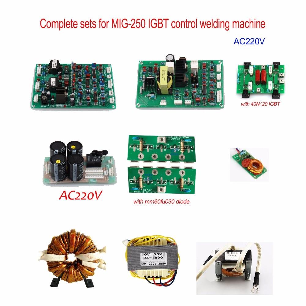 Jasic type NBC MIG-250,270 welding machine Accessories by IGBT control