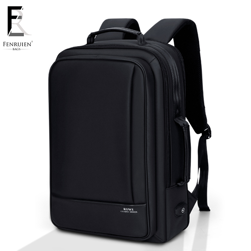 FENRUIEN Business Backpack Men 15 Inch Laptop Backpack Bag Large Mochila Black Unisex Waterproof Teenager Travel Men BackpackFENRUIEN Business Backpack Men 15 Inch Laptop Backpack Bag Large Mochila Black Unisex Waterproof Teenager Travel Men Backpack