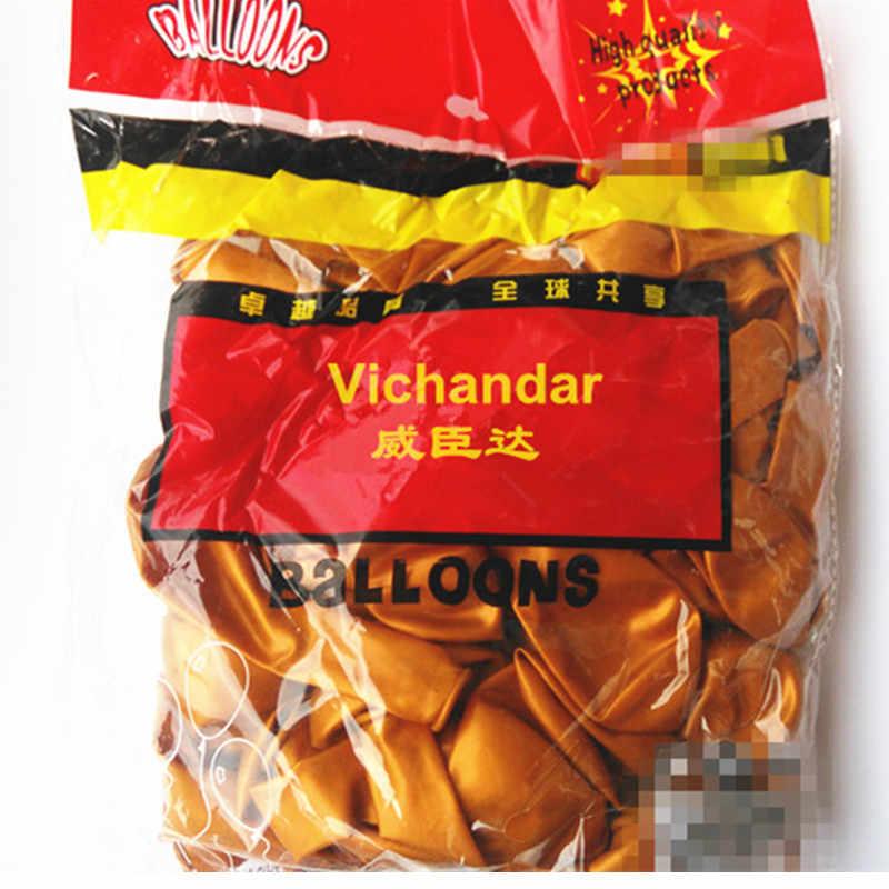 10 шт. 1,8 г красное золото латексные шары полосы свадебные шары для украшения день рождения аксессуары дети надувной воздушный шар брак