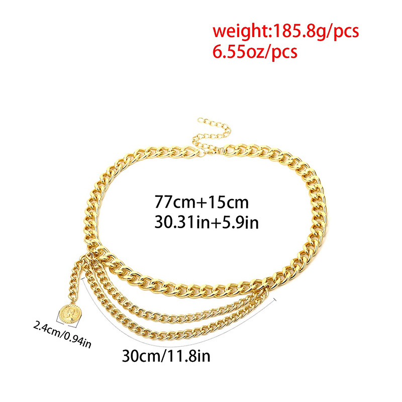 HTB1vpmrdbus3KVjSZKbq6xqkFXay - BLA Luxury Women Chain Belts Waistbands All-match Waist Gold Silver Multilayer Long Tassel Chain Belts For Party Jewelry Dress 3