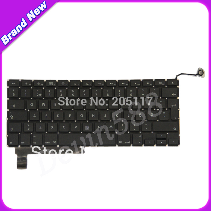 BEST PRICE!FOR Macbook Pro Unibody 15A1286 Swedish Danish Keyboard 2009 2010 картридж hp cn055ae 933xl magenta для officejet 6100 6600 6700