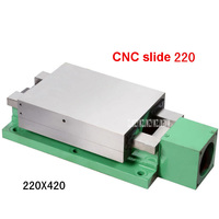 NEW 220 Sliding Table Machine Tools CNC Slide Table Linear Module Rail Slide Table Screw Guide Table 380V 750W 220*420 220 * 300