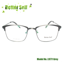 Better Self L9771 Eyewear Alloy Brown Eyeglasses Frames Men Women Myopia Optical Eye Glasses Metal Spectacles
