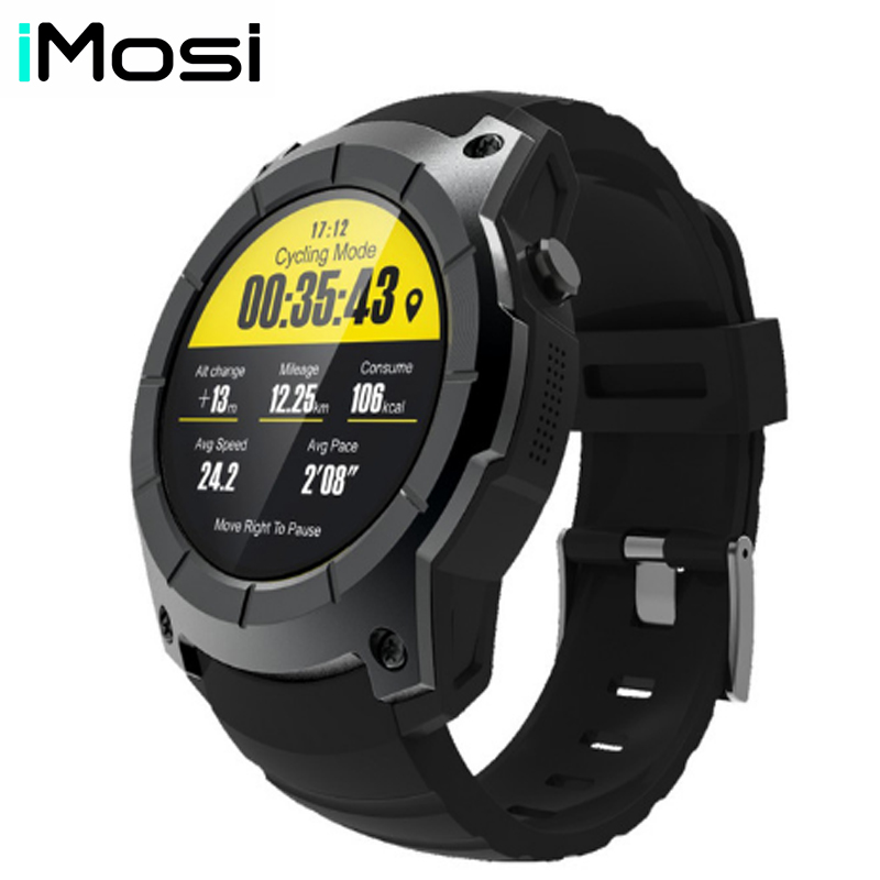 Imosi Bluetooth S958 GPS Multi-function Sport Watch MTK2503 Heart Rate Monitor Fitness Tracker Smart Watch support Sim cardImosi Bluetooth S958 GPS Multi-function Sport Watch MTK2503 Heart Rate Monitor Fitness Tracker Smart Watch support Sim card