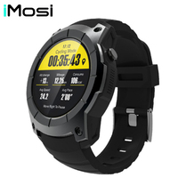 Imosi Bluetooth S958 GPS Multi function Sport Watch MTK2503 Heart Rate Monitor Fitness Tracker Smart Watch support Sim card