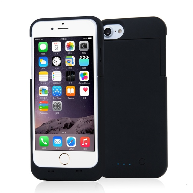 MFi Certified MAXNON Battery Case For iPhone 7 / 7 Plus Shockproof Ultra Thin Power Bank Back Cover External Backup Charger Case