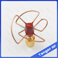 Tanger High Quality Gain Antenna 5.8G FPV Antenna 4 Leaf Blade 5.8 G GHz TX Circular Polarized Antenna Set SMA male 5.8GHz RX
