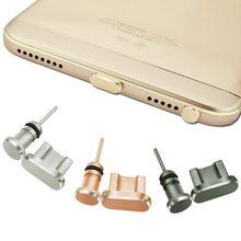 Горячие Алюминий Пылезащитные заглушки комплект Micro USB Порты и разъёмы + наушников Вилки sim-карты иглы для Android-смартфон для Sumsang для Huawei
