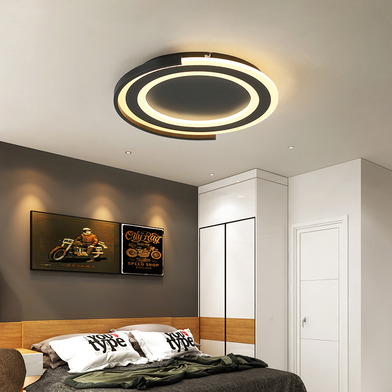 Us 87 66 20 Off Modern Led Ceiling Light For Bed Room Dining Room Round Ceiling Lighter Surface Mounted Plafonnier Led Acrylic Lampara Techo In